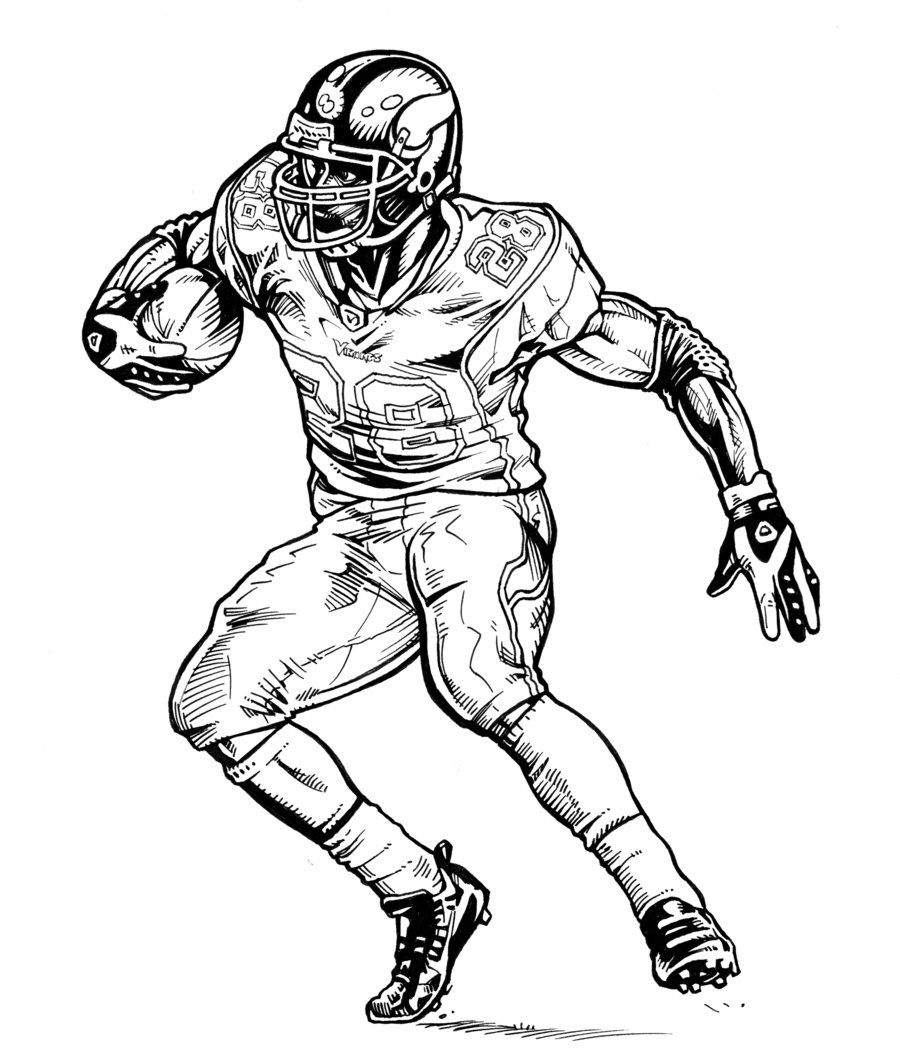 12 pics of minnesota vikings coloring pages to print football