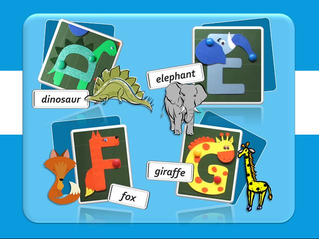 "Speak English!: English for little ones: ""Живой"" английский алфавит (from A to J)"
