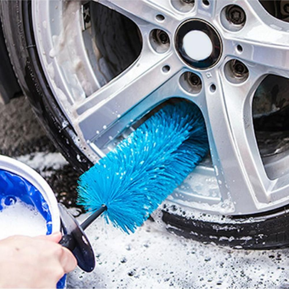 Image result for tire brush to clean rims