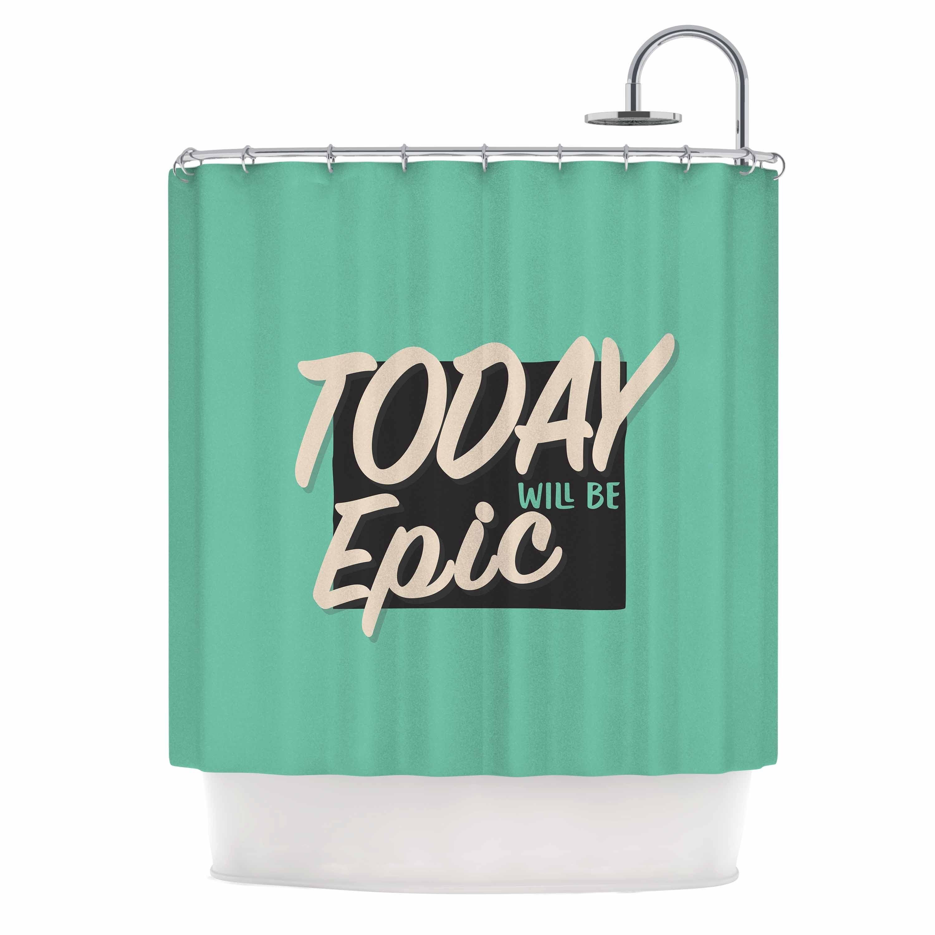 Kess InHouse Juan Paolo 'Epic Day' Shower Curtain