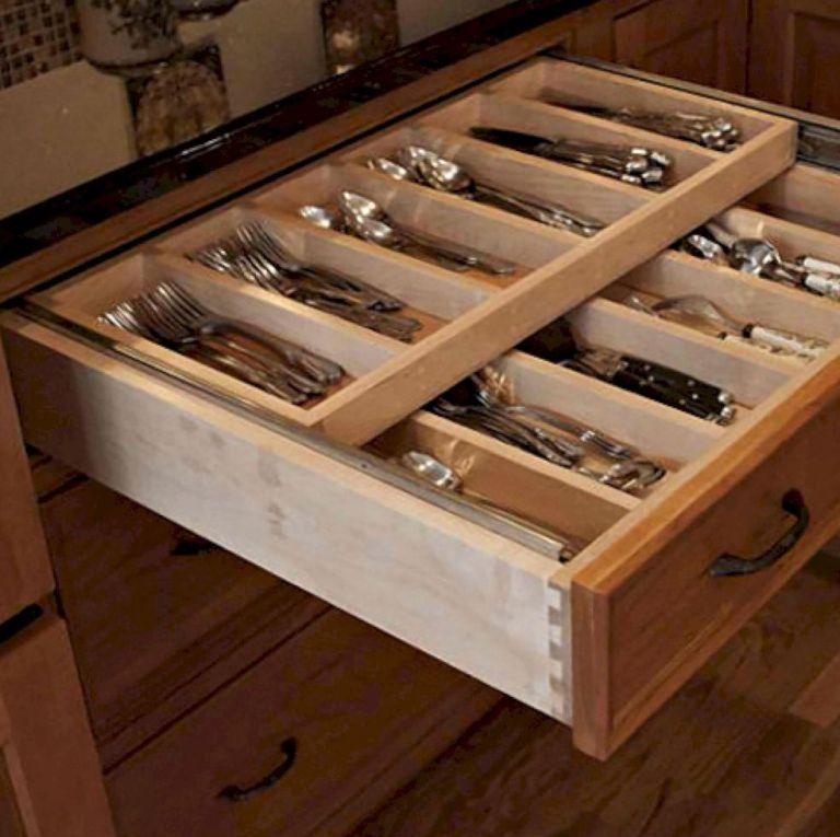 Smart Kitchen Cabinet Ideas: 43 Smart Kitchen Cabinet Organization Ideas
