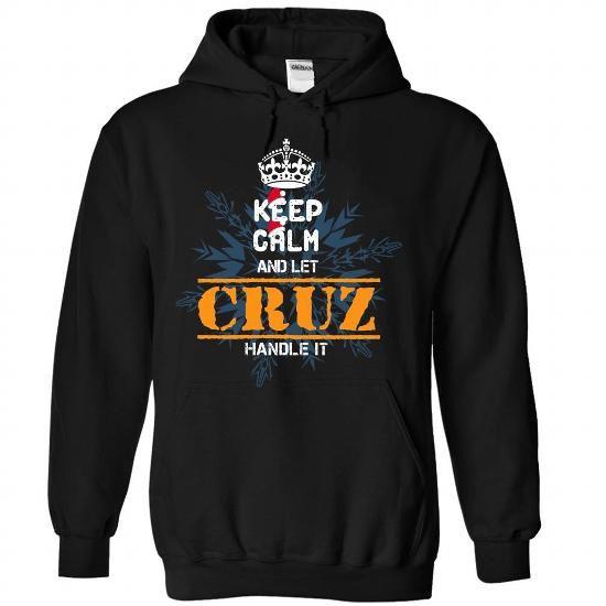 0610 Keep Calm and Let CRUZ Handle It Noel T-Shirts, Hoodies (39$ ==► BUY Now!)