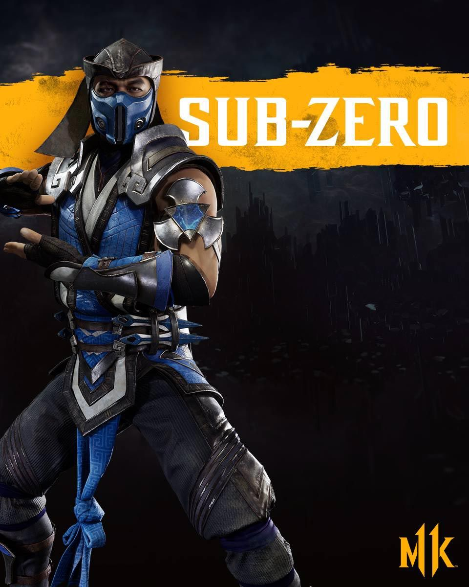 Mortal Kombat 11 Wallpapers And News Pre Order Links Mortal Kombat Characters Sub Zero Mortal Kombat Mortal Kombat
