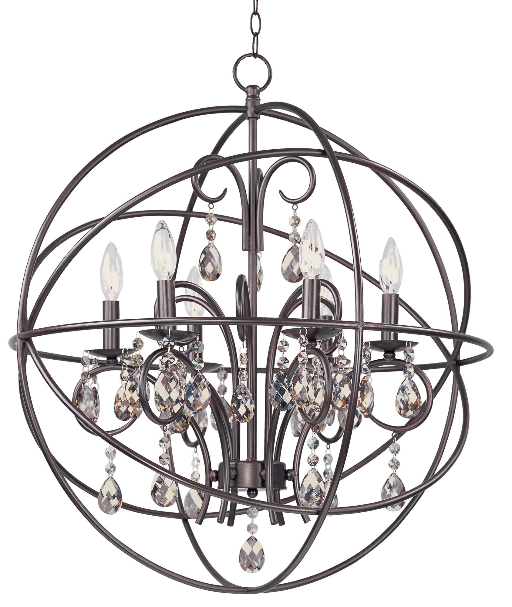 Maxim Lighting Orbit 6Light Pendant & Reviews Wayfair