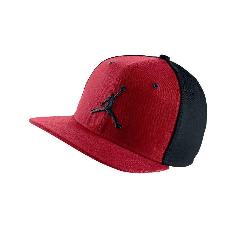 4a1d4a5d8380 Nike Jordan Jumpman Air Mütze Snapback Kappe Damen Herren Kinder Mütze Rot  Black   Kleidung