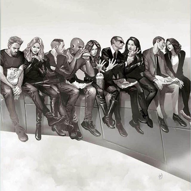 Who made this?! This is INCREDIBLE!! #AgentsofSHIELD #FanArt