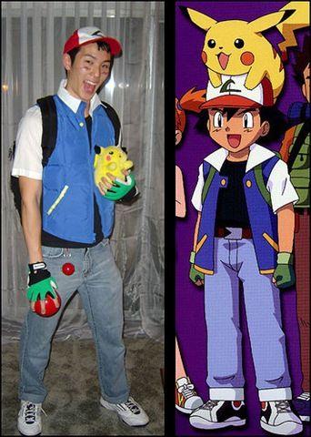 Disfraces caseros  Ash (Pokémon)  90d005381b90