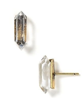 Low Luv by Erin Wasson Crystal Stud Earrings