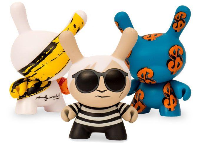 PRE-ORDER: Warhol x Kidrobot Dunny Mini SeriesKidrobotって、ノリノリだね。 キャンベル・スープ缶や...