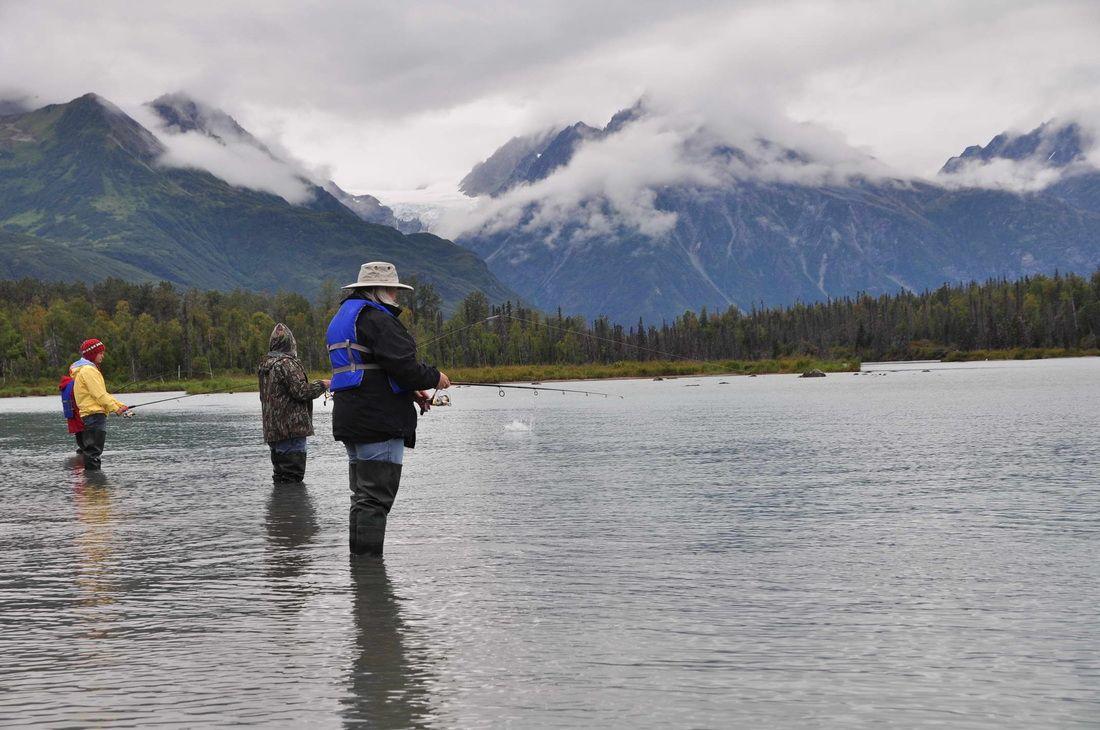 Alaska Hooksetters Lodge All Inclusive Kenai Fishing Vacation - Alaska all inclusive