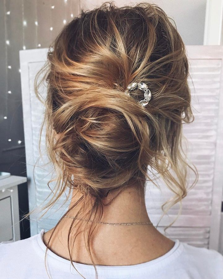 Wedding Hairstyle For Long Hair Tutorial: Gorgeous Messy Bridal Hair Updos