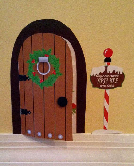 Hey i found this really awesome etsy listing at https for The magic elf door