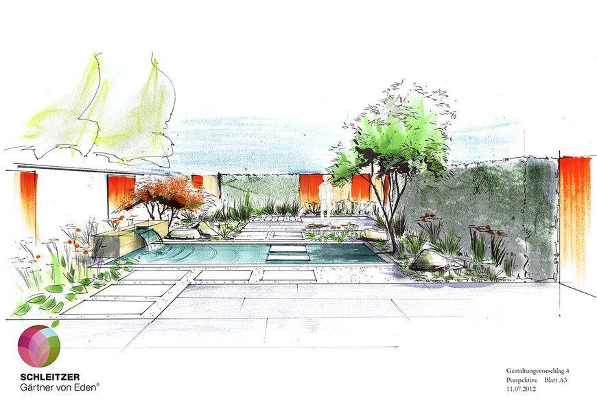 sketch garden Sketch giardini Pinterest Sketches Gardens