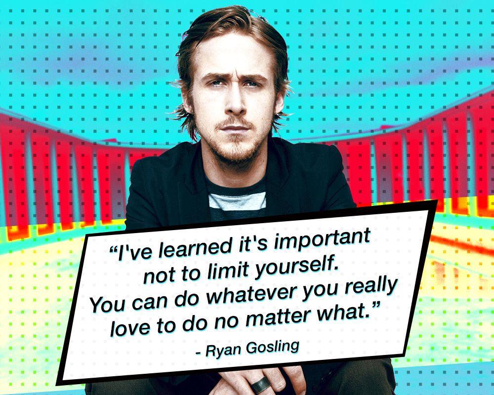 Ryan Gosling - Actor de cine, escritor y músico canadiense. http://bit.ly/1hVpgRr