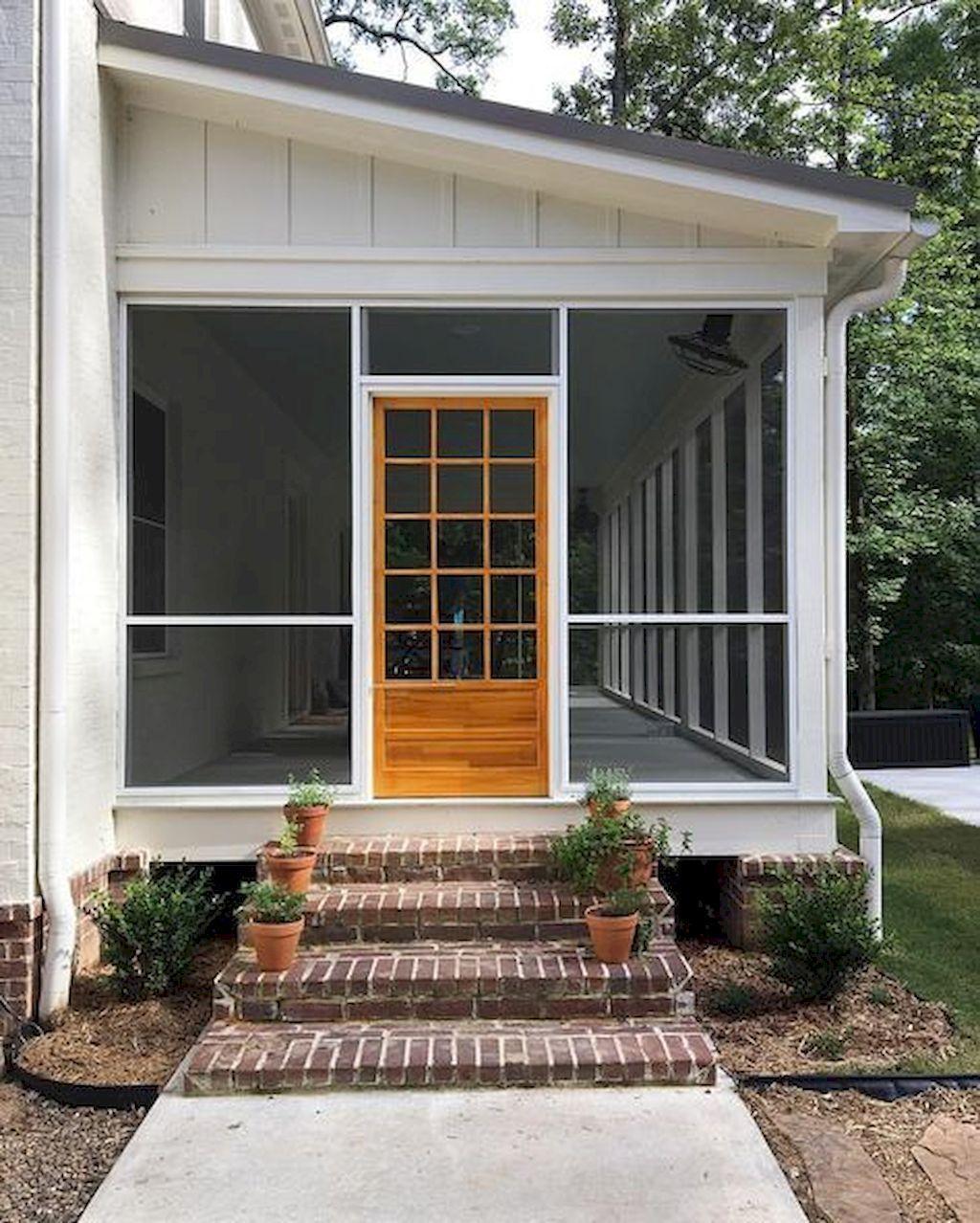 Best Farmhouse Front Porch Remodel Ideas 54 Homeideas Co Porch Remodel Porch Design Backyard Porch