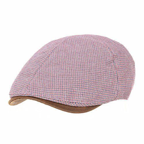 fb2fe30740c  23.99 WITHMOONS Trendy Houndstooth Pattern Cotton Newsboy Hat Flat Cap  SL3245