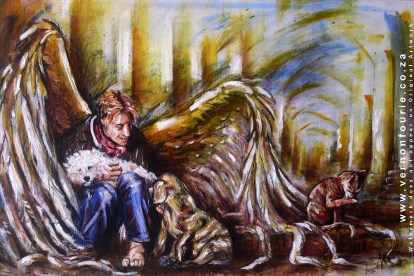 """""""Angel to the Animals"""" by Vernon Fourie 