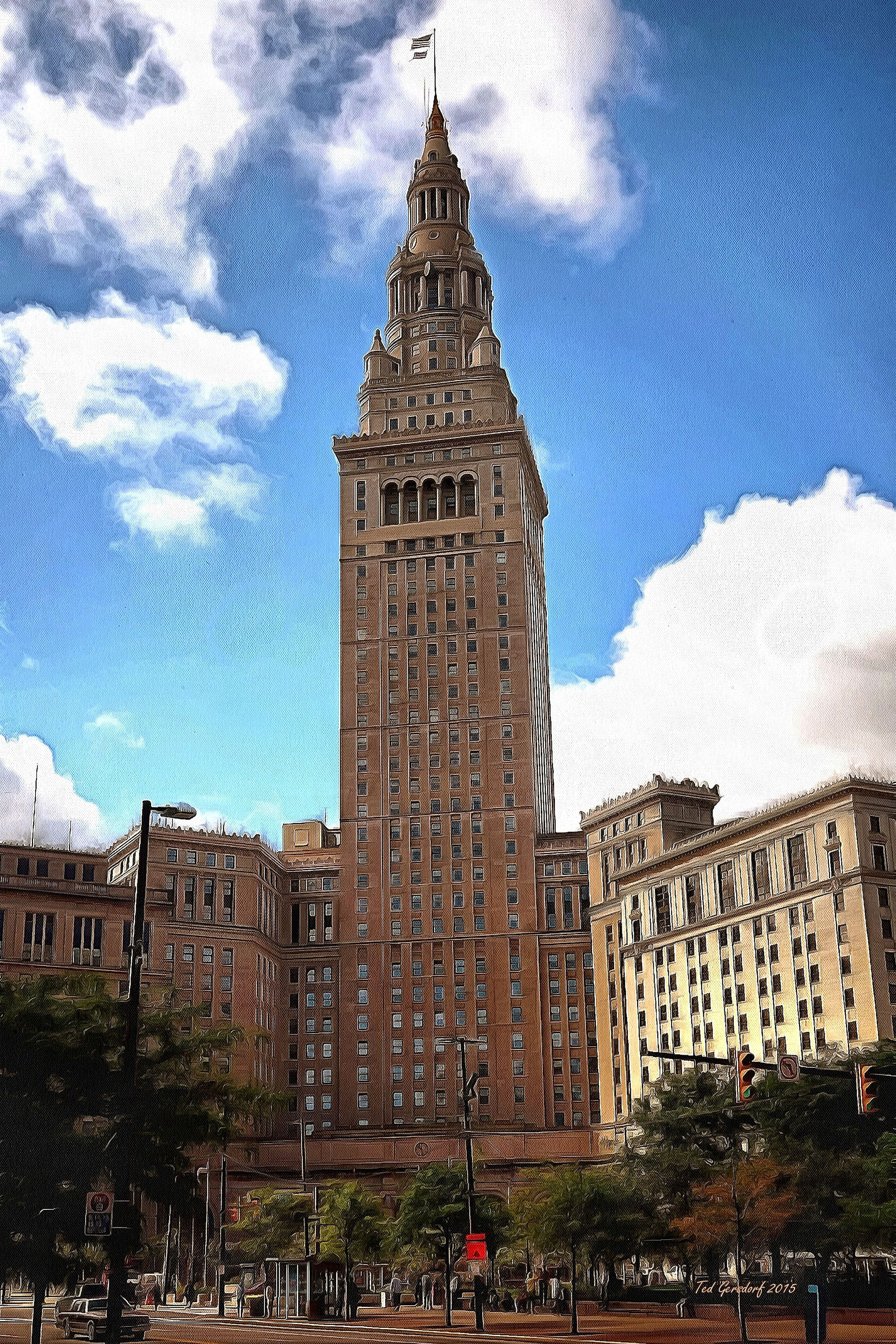 Painted version of the wonderful Terminal Tower