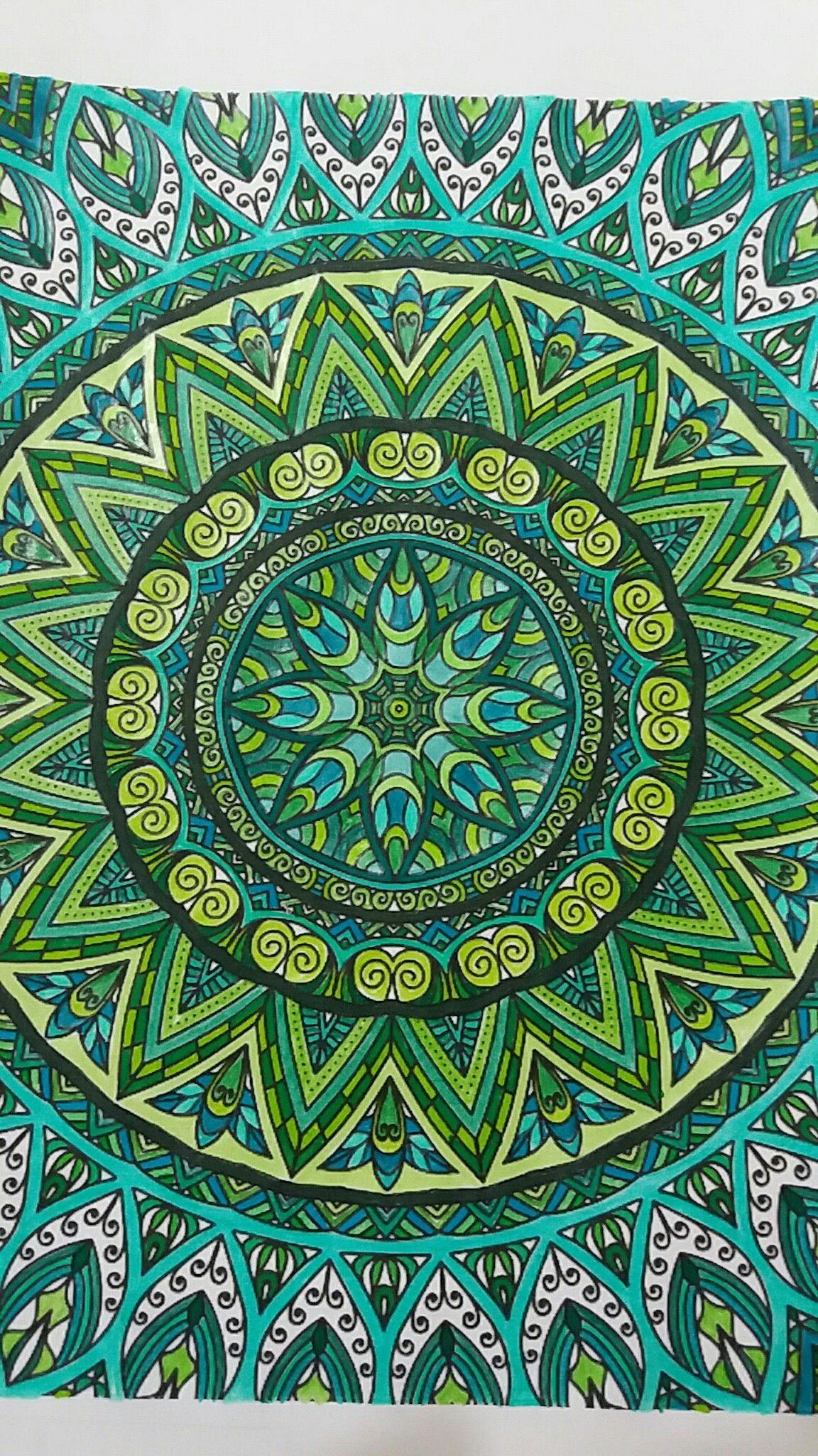 Pin By Valeria Tomei On Kolorowanki Antystresowe Neon Colors Tapestry Mandala