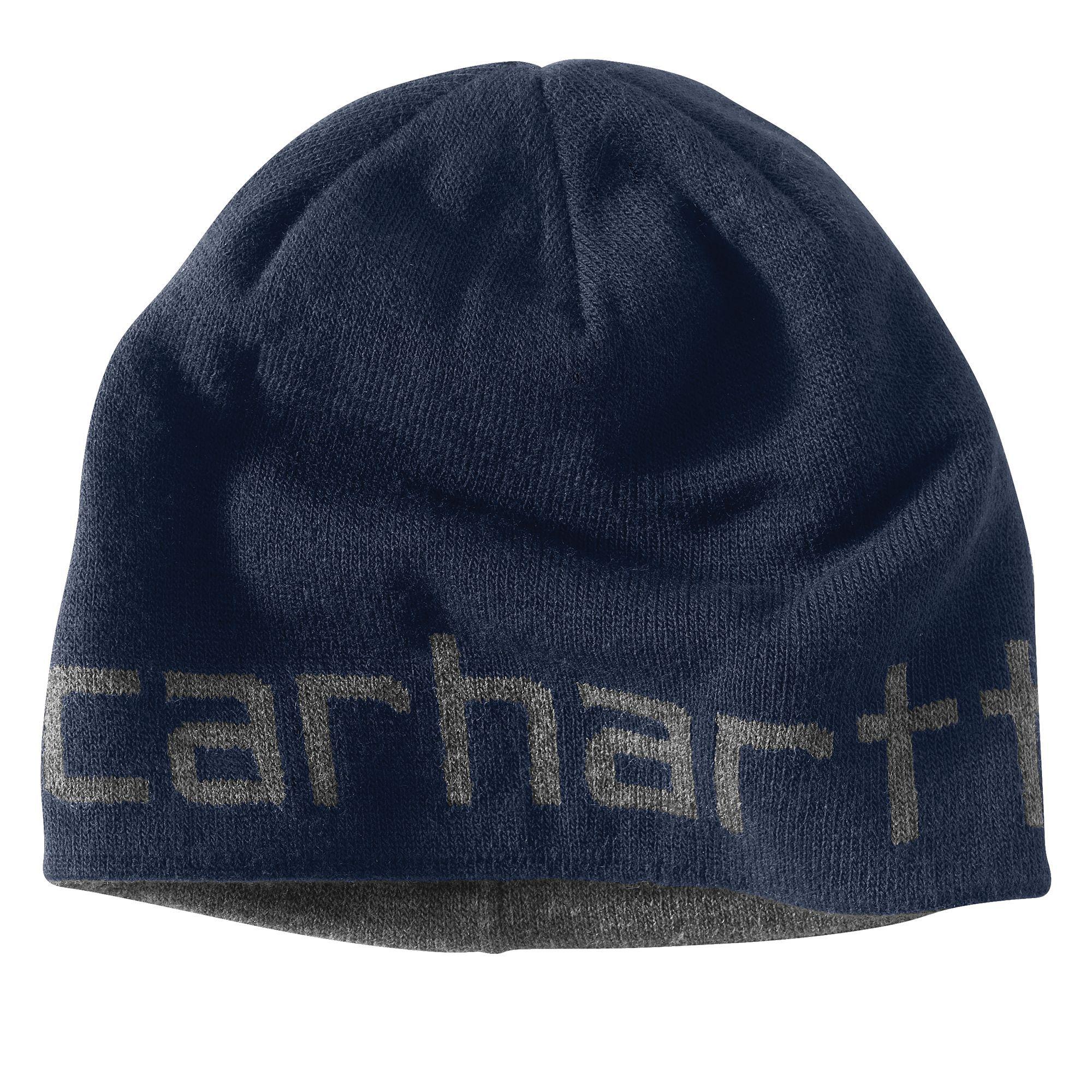 Carhartt Mens Greenfield Reversible Hat 100137 Navy
