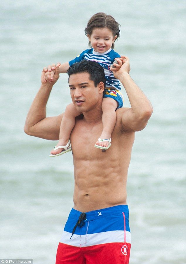 Mario Lopez Took A Break From His Busy Schedule As The Host