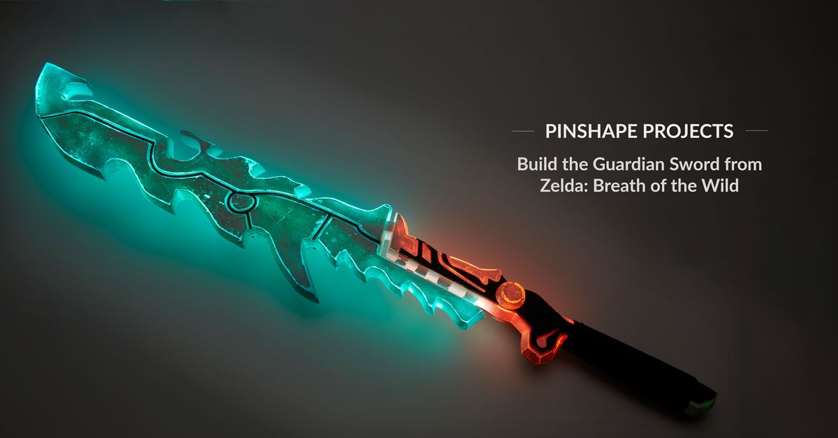 Diy Guardian Sword From Zelda Breath Of The Wild Breath Of The
