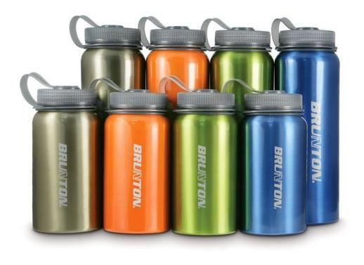 Brunton Aluminum Water BottlesBrunton Aluminum Water Bottles are a health-conscious alternative to BPA laden plastic water bottles. Brunton's new Aluminum water bottles have that classic wide mouth design making it a sure fit for water filters, spill guards and more. Brunton Water Bottles have an epoxy coating on the inside prevents after taste or taste transfer, and these bottles are worthy of any beverage including acidic fruit juices or alcohol, making them a great camping ...
