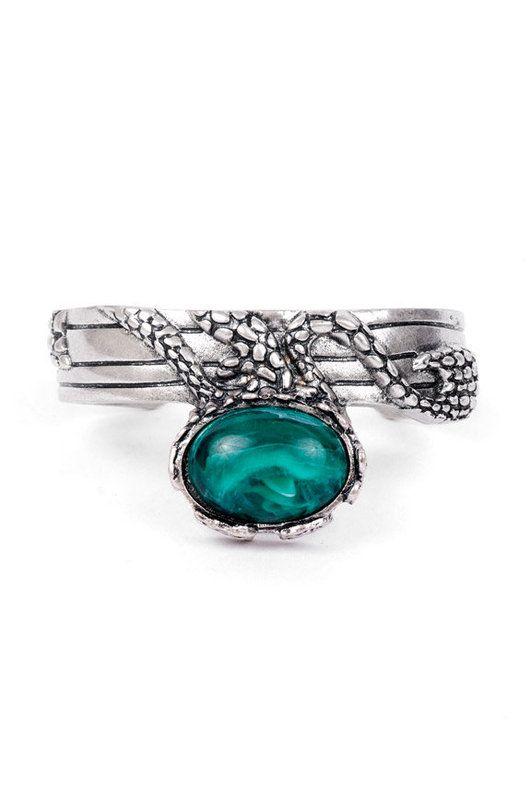 Stone Cold Bracelet. Slytherin style. Harry Potter fashion.