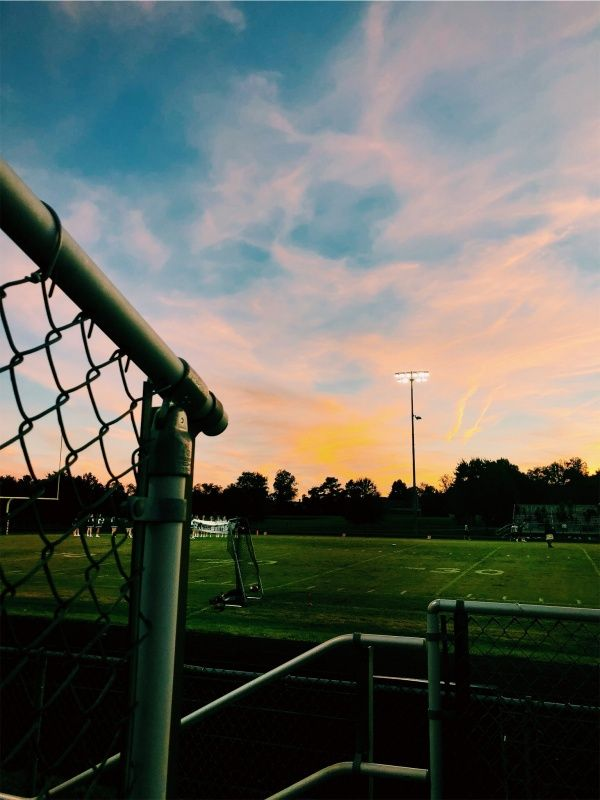Vsco Csg Sunset Football Game Clouds Sunset Football Footballgame Clouds Soccer Photography Football Photography Soccer Life