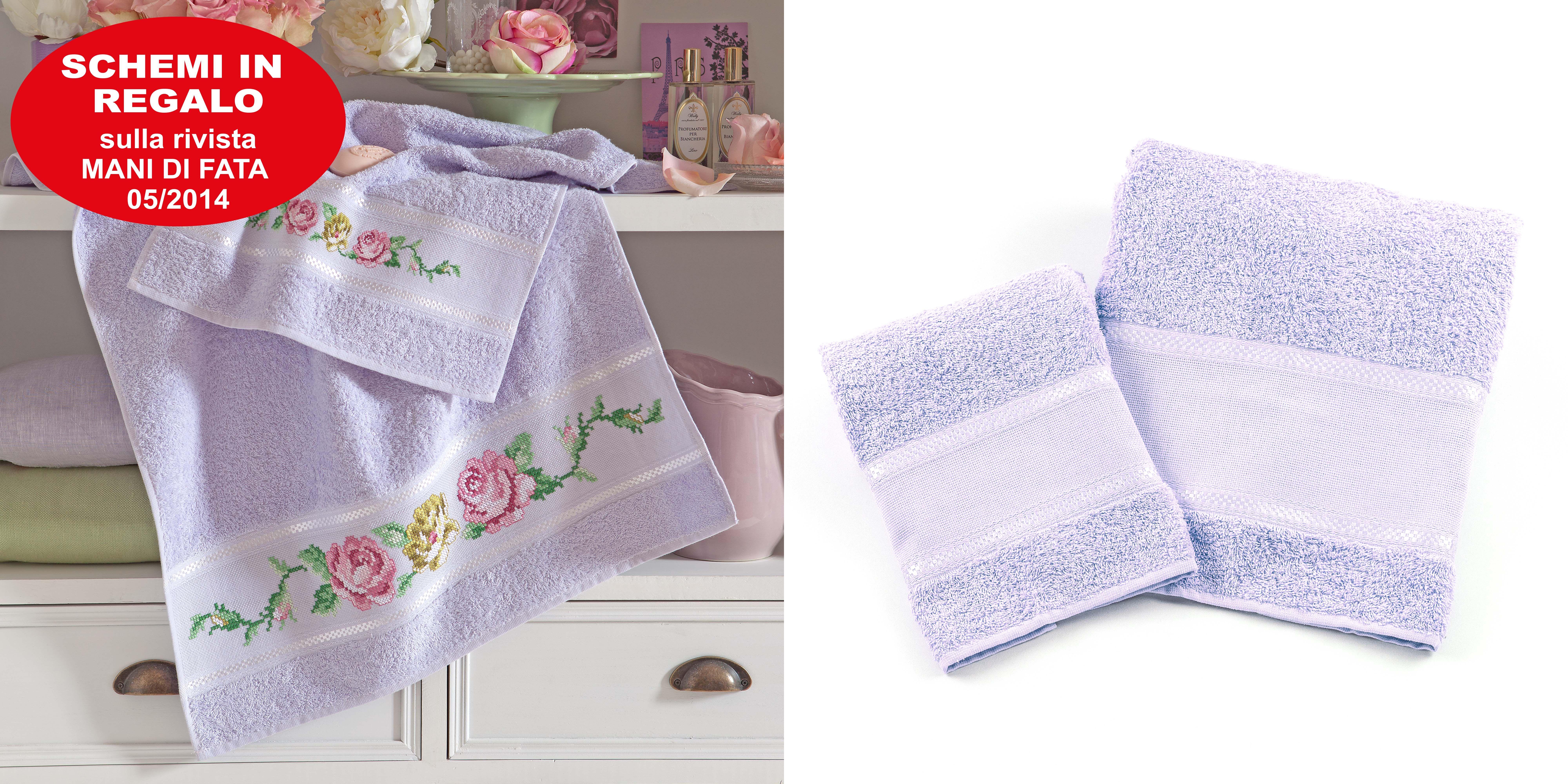 Parure asciugamani