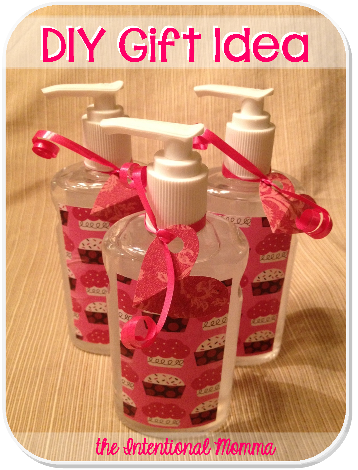 Diy gift idea hand sanitizer bottle scrapbook paper mod podge here is a simple and inexpensive gift idea that can be tailored to any occasion or holiday grab some hand sanitizer bottles mod podge scrapbook paper negle Images