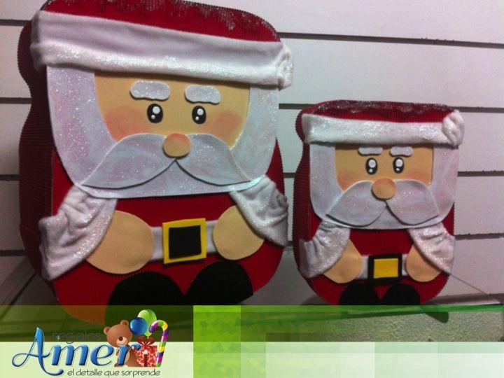 Tamaños, grande, mediana, chica, en Regalos Amer, para esta navidad.