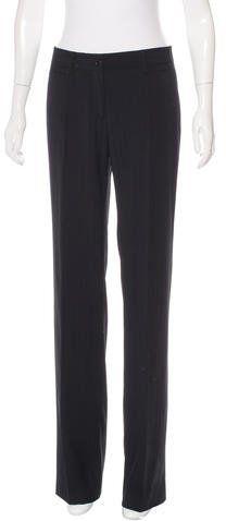 Dolce & Gabbana Wool Pinstripe Pants