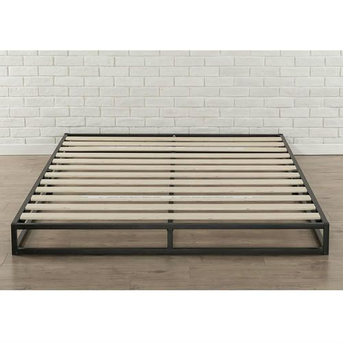 HomePacific Low Profile 6-inch Metal Platform Bed Frame with Wood ...