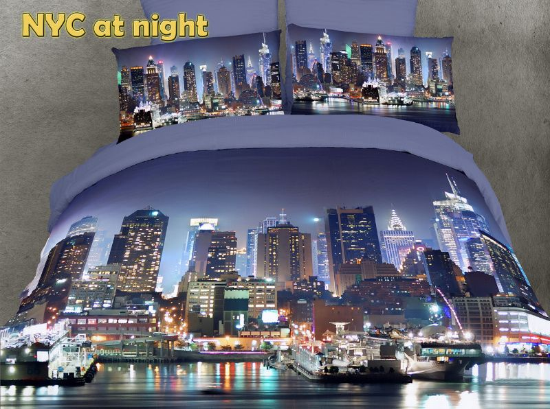 Yes Yes Yes Love That It S Colored Nyc Bedding New York