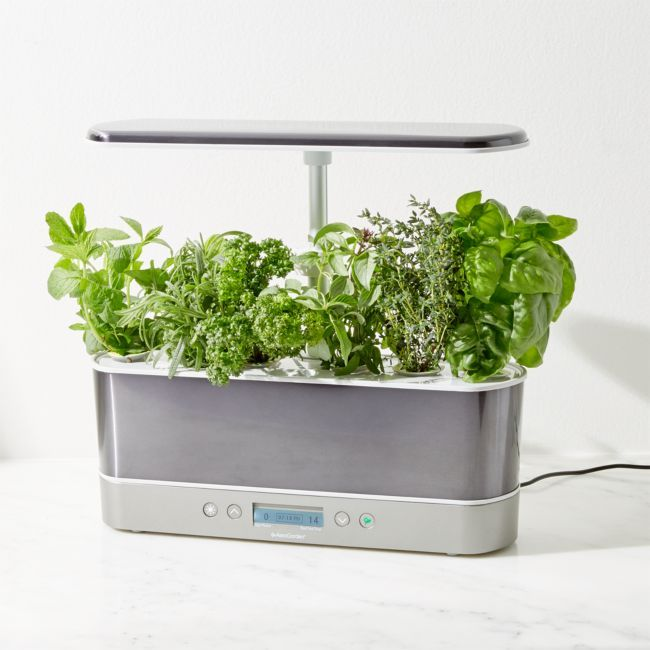 Aerogarden Harvest Elite Slim Platinum Indoor Garden 400 x 300