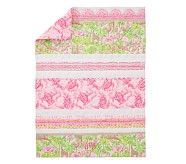 Lilly Pulitzer On Parade Baby Bedding Toddler Quilt