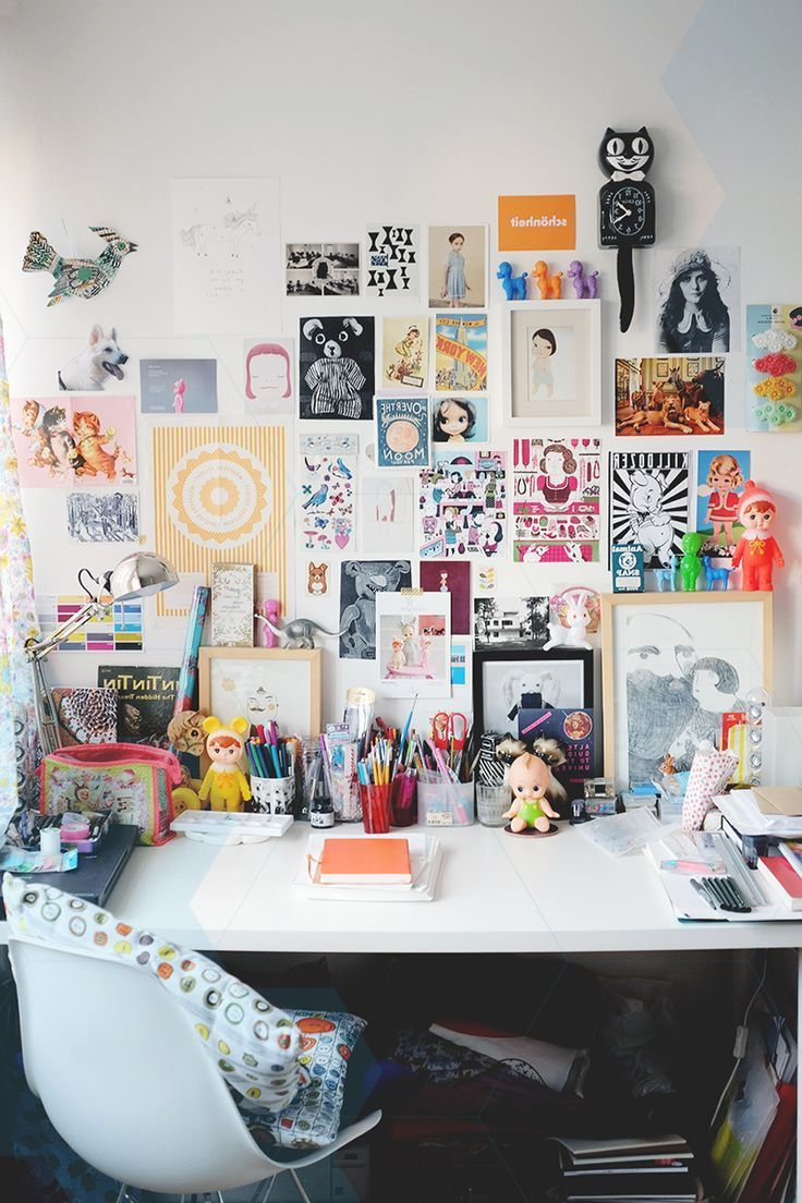 30 Functional And Creative Home Office Ideas: Decorative Creative Office - 30 Home Office Design Ideas To Help You Live A Bett