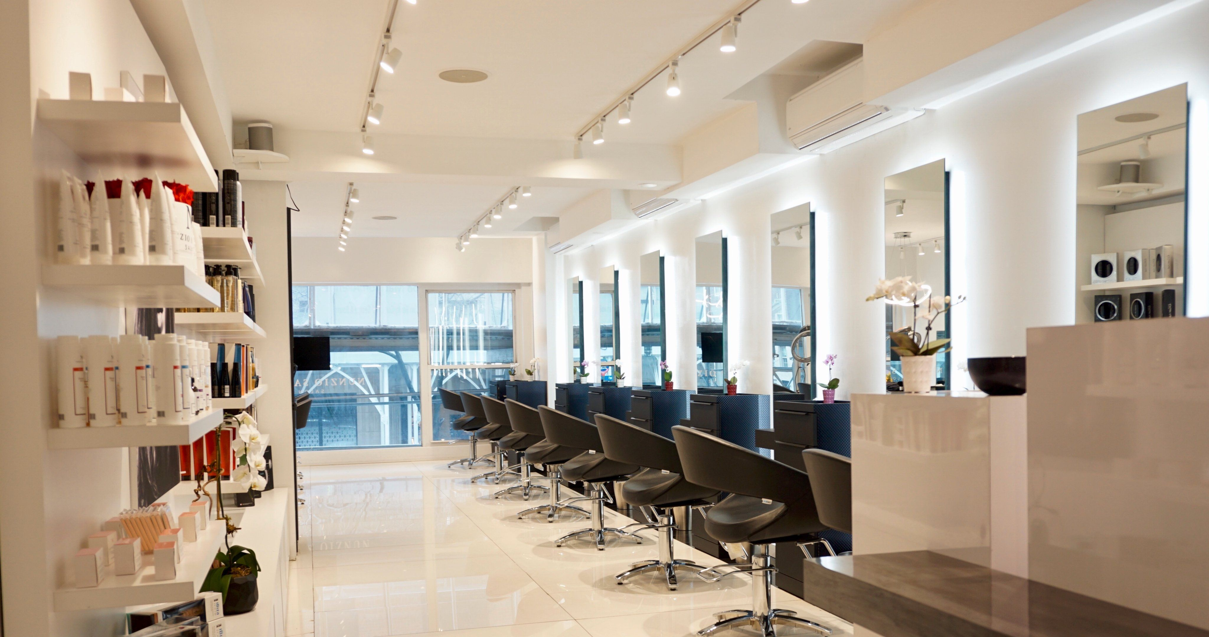 What S The Best Hairsalonnearme In Nyc Visit Nunziosavianossalon For A Trendy Hairstyle Or Laid Back Hairtreatment Call 212 98 Hair Salon Home Decor Home