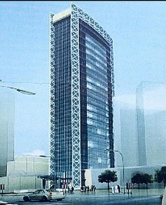 برج الريان بلازا تحت التنفيذ Arquitectura