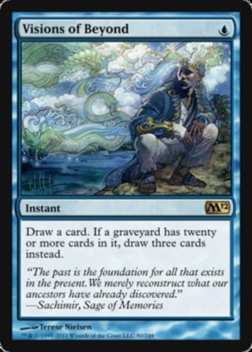 Visions Of Beyond Foil X1 Magic The Gathering 1x Magic 2012 Mtg