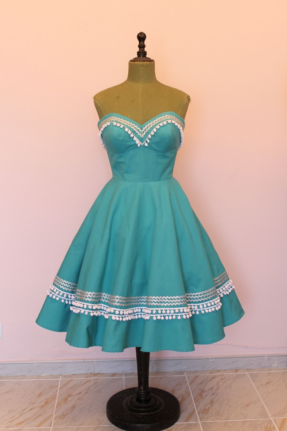 Blanca Dress in turquoise | Clothes | Pinterest | Mexican dresses ...