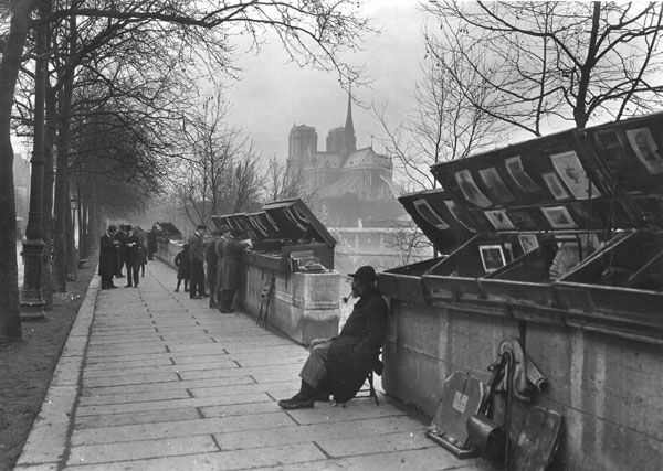 Quai de la Tournelle ~ Yvon  c. 1920's