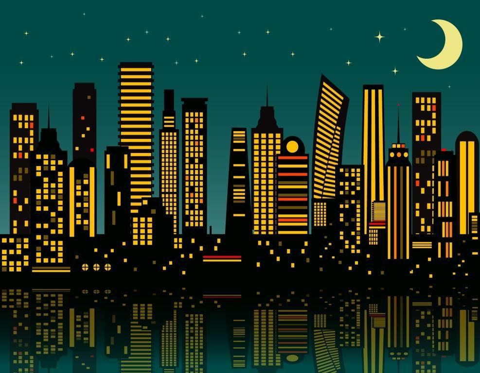 Superhero Photo Background Backdrop Photo Backgrounds Studio Backdrops City Drawing