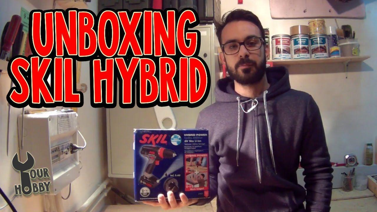 unboxing | avvitatore hybrid skil 2461 | skil diy power tools
