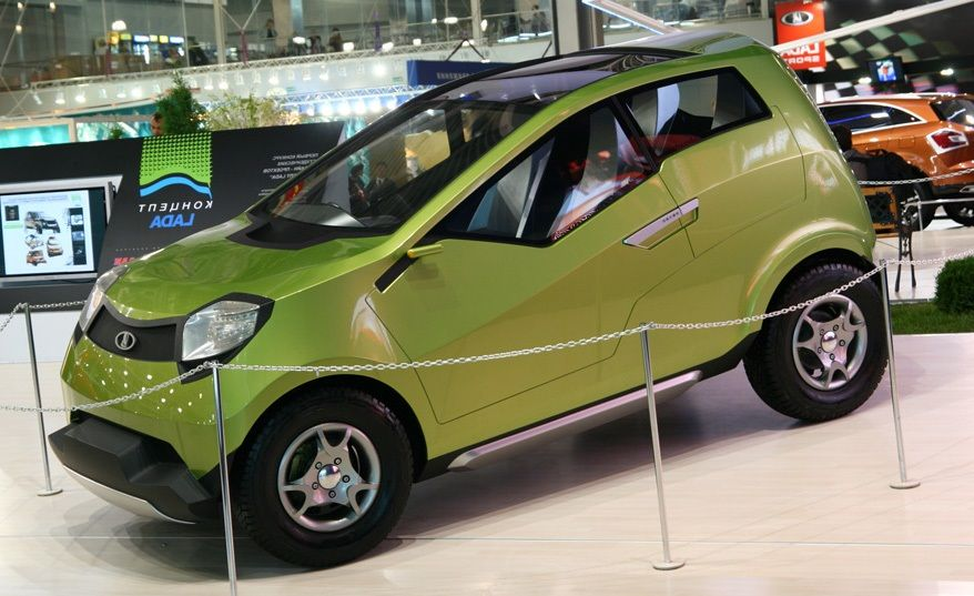 Lada Kalina 4X4.