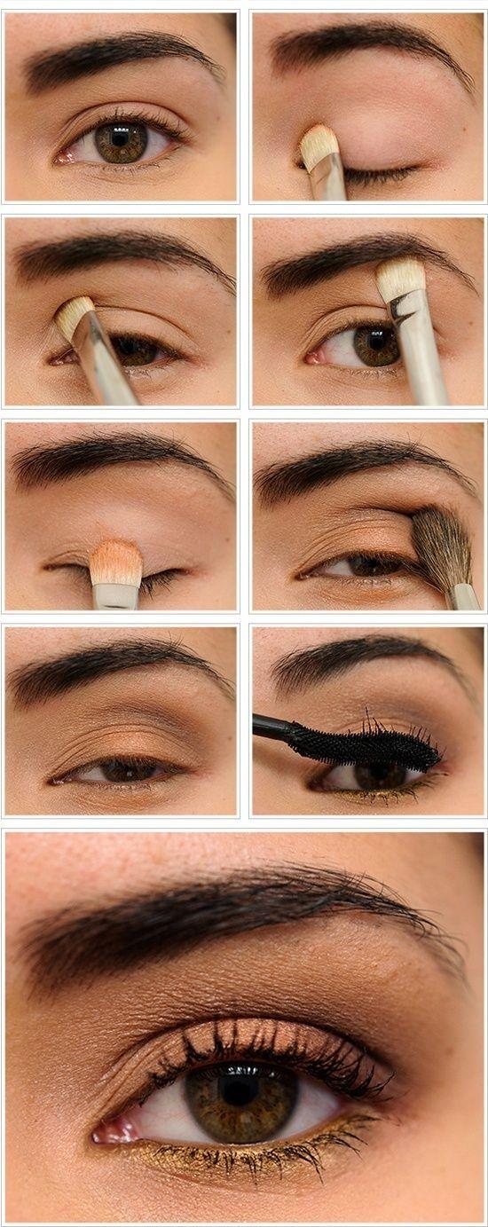 tutorial bsico de sombras maquillaje
