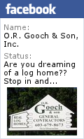Gooch Real Log Homes, NH Log Homes, NH Log Home Builder, MA Log Homes, MA Log Homes Builder, NH Log Cabins