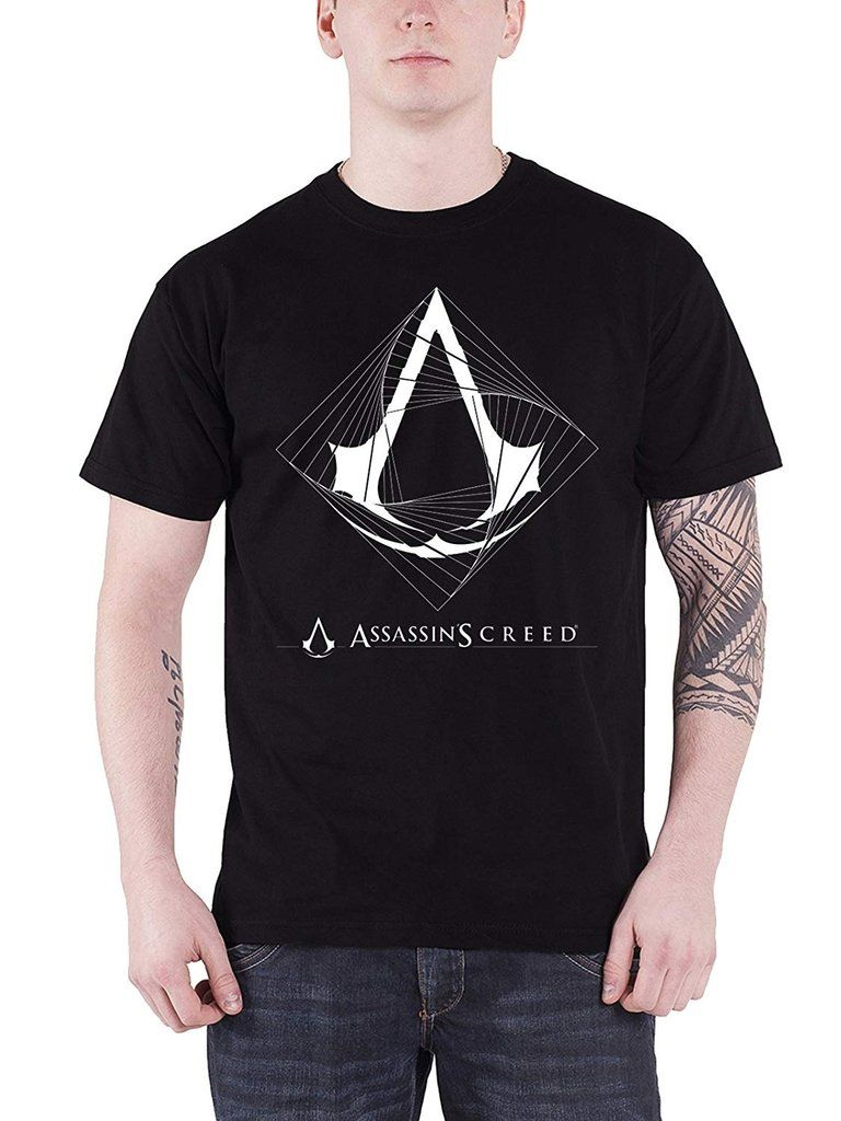 NEW /& OFFICIAL! Assassin/'s Creed /'Spiral/' T-Shirt