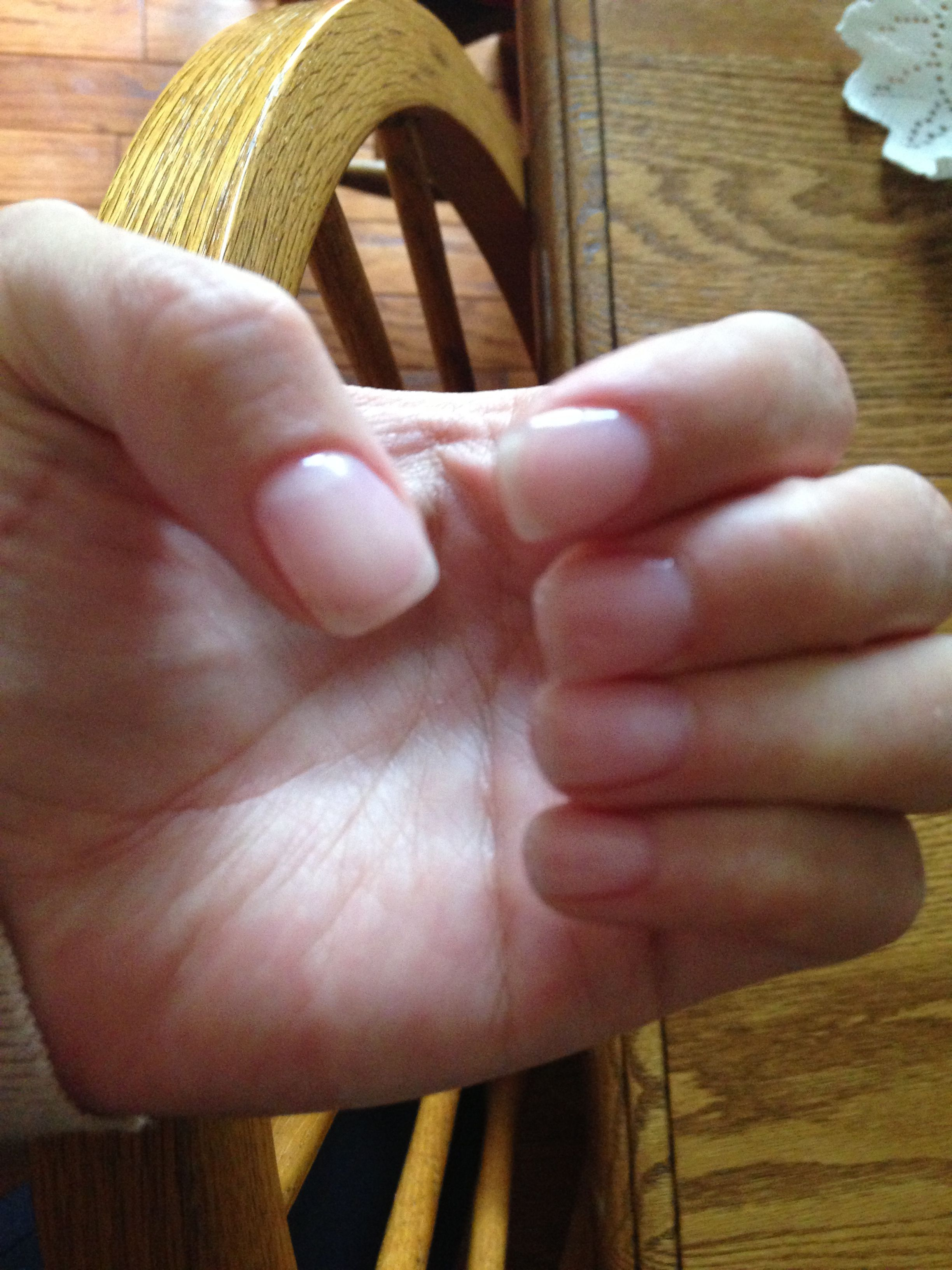Natural Nails With Overlay